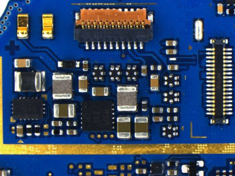 Blue PCB acquired by PROMICAM 3-3CP
