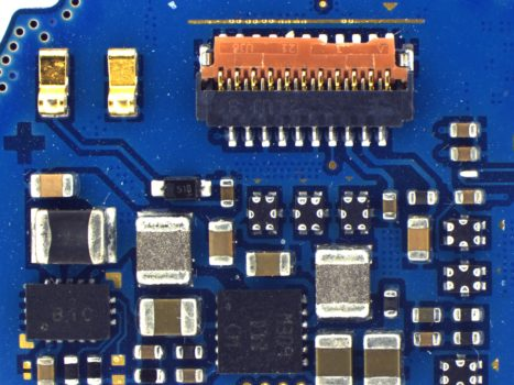 Blue PCB acquired by PROMICAM LITE 5