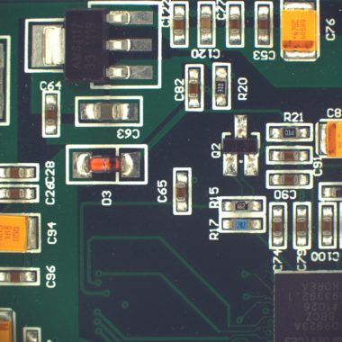 Green printed circuit board acquired by PROMICAM 3-4C