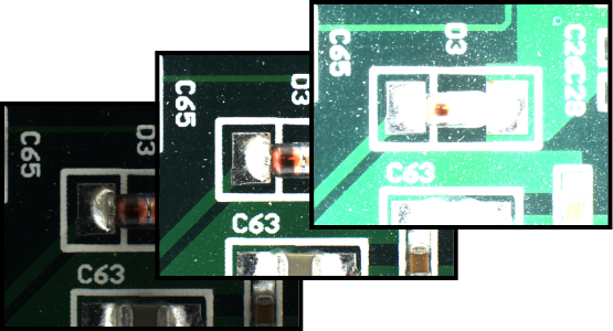 HDR merging of SMD diode