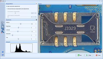 HDR screenshot preview