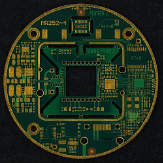 PCB captured by Image Stitching module for QuickPHOTO