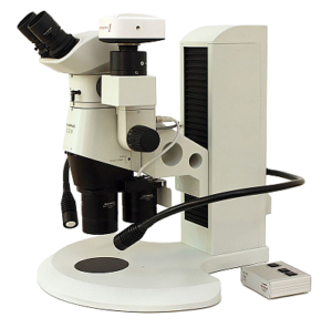 PRO-MLS motorized stand with Olympus SZX16 microscope