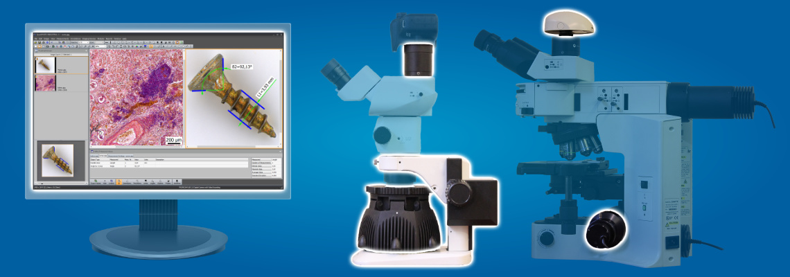 PROMICRA products on microscopes