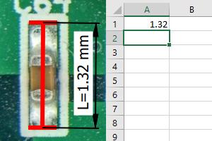 QuickPHOTO continuous Excel export