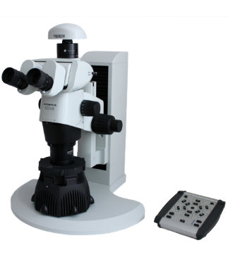 SUNFLOWER LED illuminator on Olympus SZX16 microscope with PROMICAM camera