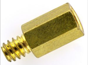 Motherboard screw illuminated by SUNFLOWER illuminator